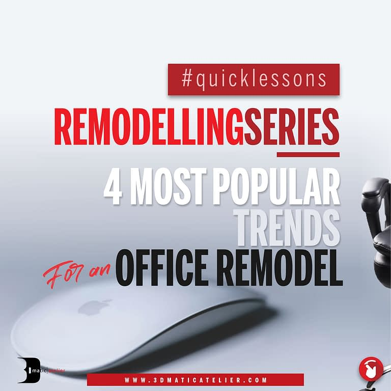 4 Most Popular Trends For An Office Remodel
