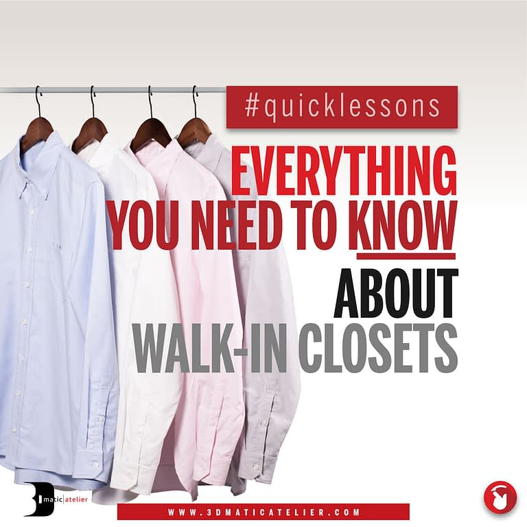 Everything You Need To Know About Walk-In Closets