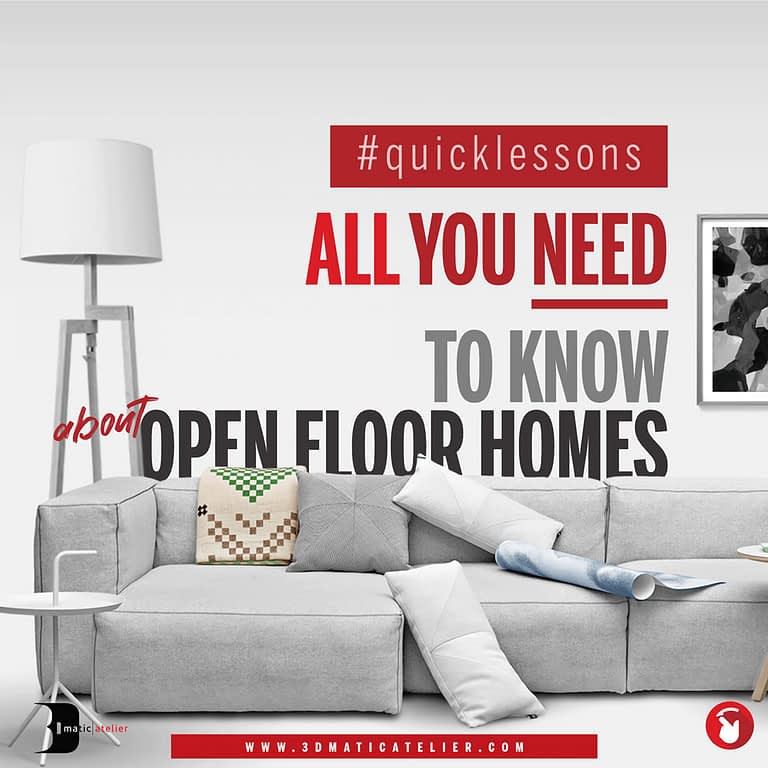 All You Need To Know About Open Plan Homes